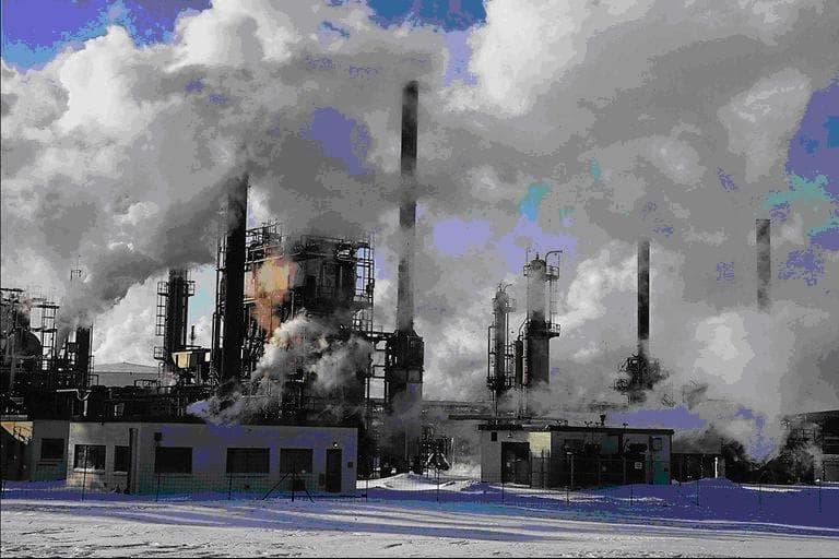 Исчезающая окружающая человека природная среда
