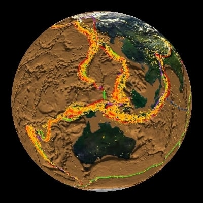 Причины землетрясений и моретрясений