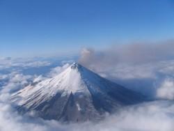 Здесь на этом фото виден спящий вулкан