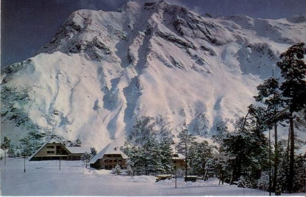 Лавинные очаги: снегосбор, лавинная трасса и зона аккумуляции